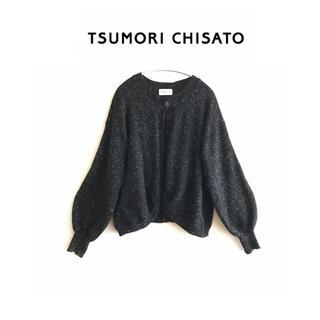 TSUMORI CHISATO - ツモリチサト★ボリュームスリーブ   カーディガン  ニット