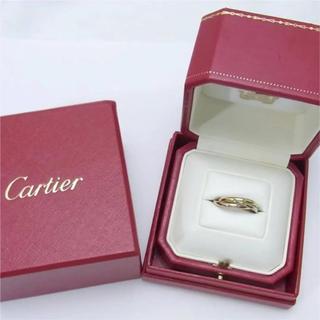 カルティエ(Cartier)のCartier カルティエ K18 トリニティリング 指輪 #51(リング(指輪))