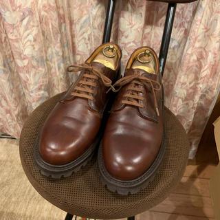 ジェイクルー(J.Crew)のJ. CREW ジェイクルー 革靴 ドレスシューズ  プレーントゥ 厚底(ドレス/ビジネス)