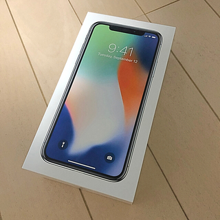 Apple - iPhoneX 256GB シルバー SIMフリー