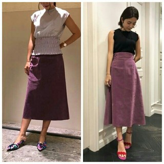 FRAY I.D - FRAYI. Dヌベック台形スカート