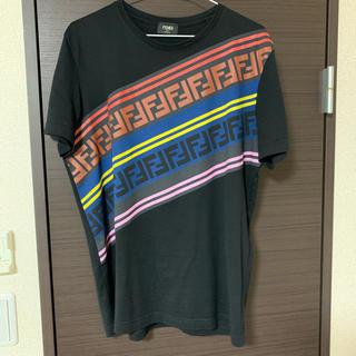FENDI プリントコットンTシャツ