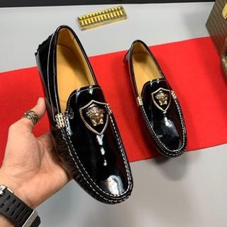 ヴェルサーチ(VERSACE)の革靴 ビジネス(スニーカー)