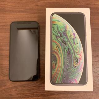 iPhone - iPhone Xs スペースグレイ 256 GB docomo Simフリー