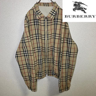 BURBERRY - 90s  Burberry バーバリー リバーシブル スウィングトップ