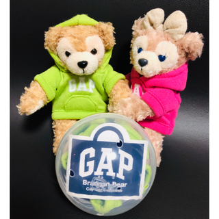 ギャップ(GAP)のGAP ガチャ マスコットパーカー (グリーン)(キャラクターグッズ)