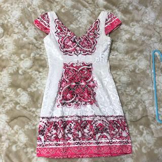 ローブ(ROBE)のglossy ドレス(ミニドレス)
