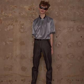 ジョンローレンスサリバン(JOHN LAWRENCE SULLIVAN)のLITTLEBIG 18ss halfzip ポロシャツ(Tシャツ/カットソー(半袖/袖なし))