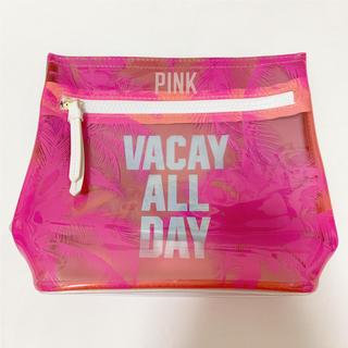 ヴィクトリアズシークレット(Victoria's Secret)のPINK PVCポーチ(ポーチ)