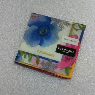 LEONARD - LEONARD☆大判ハンカチ52×52
