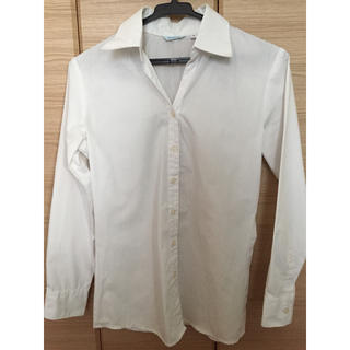 ビジネス 白シャツ ブラウス 長袖(シャツ/ブラウス(長袖/七分))