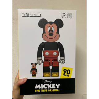 FRAGMENT - BE@RBRICK fragmentdesign MICKEY MOUSE
