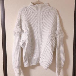 GU - フリンジハイネックセーター GU/LOWRYSFARM/JEANASIS