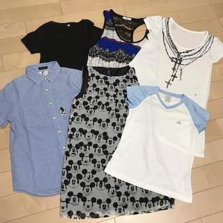 スライ(SLY)の夏のカジュアルトップス 6点セット(Tシャツ(半袖/袖なし))
