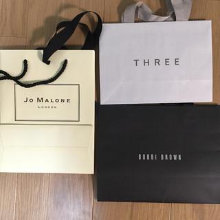 スリー(THREE)のデパコス 紙袋 ショップ袋(ショップ袋)