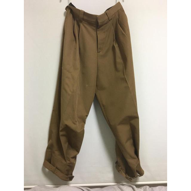 Marni(マルニ)のAW16 MARNI パンツ 裾ベルト ワイド メンズのパンツ(スラックス)の商品写真