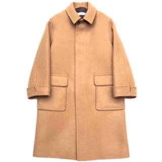 graphpaper  Wool Cashmere Melton Coat