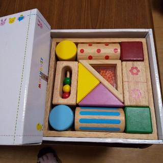 ミキハウス(mikihouse)のエドインター製 音いっぱいの積み木(積み木/ブロック)