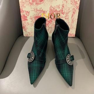 ディオール(Dior)のディオール ハイカット ブーツ  サイズ37(ブーツ)