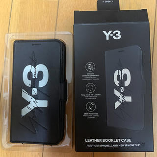 ワイスリー(Y-3)のY-3 iphone X/XS ケース 手帳型 2way 期間限定値下げ(iPhoneケース)