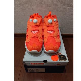 リーボック(Reebok)のReebok ポンプフューリー オレンジ 28センチ(スニーカー)
