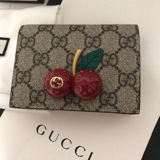 Gucci - 新品!グッチ チェリー 財布