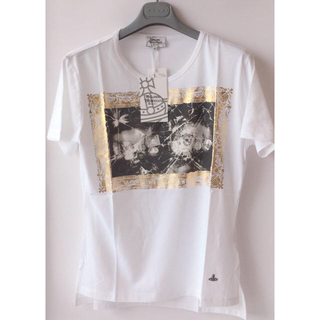 Vivienne Westwood - 新品★ヴィヴィアン ウエストウッド マン PUNCHWOOD Tシャツ★白M46