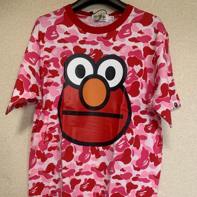 A BATHING APE(アベイシングエイプ)のBape × Sesame camo,M メンズのトップス(Tシャツ/カットソー(半袖/袖なし))の商品写真