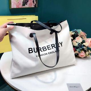 BURBERRY - Burberry 大人気 ハンドバッグ トートバッグ ショップ袋