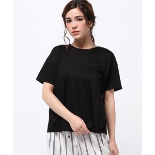 ローズバッド(ROSE BUD)のROSE BUD バックリボンTシャツ(Tシャツ(半袖/袖なし))