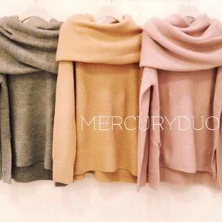 MERCURYDUO - MERCURYDUO♡スヌード付ニット ロイヤルパーティー スナイデル ジル