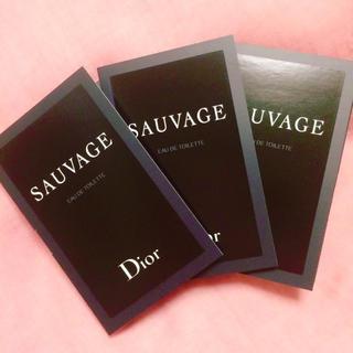 Dior - ディオール ソヴァージュ 3本セット