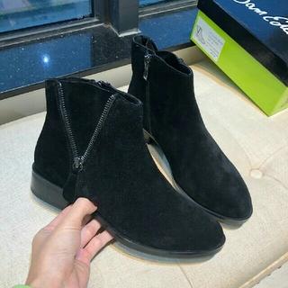 秋冬 新品 Sam Eledman レディース *黒い革靴  ブーツ  (ブーツ)