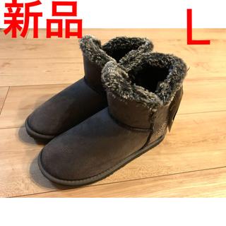 ハリスツイード(Harris Tweed)の新品 ハリスツイード ムートンブーツ Lサイズ(ブーツ)