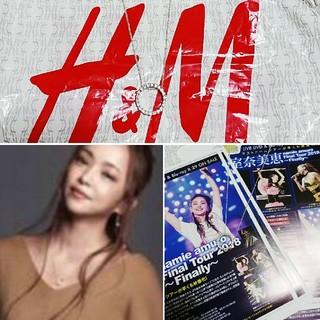 エイチアンドエム(H&M)の安室奈美恵 コラボ H&M ネックレス 秋 フリーペーパー(ネックレス)