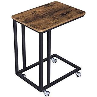 VASAGLE サイドテーブル ナイトテーブル ヴィンテージ