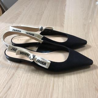クリスチャンディオール(Christian Dior)のクリスチャンディオール 靴 37.5サイズ(サンダル)