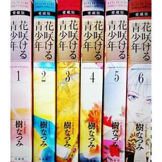 【送料無料】花咲ける青少年 全6巻(全巻セット)