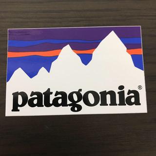 パタゴニア(patagonia)の【縦5.7cm横8.8cm】patagonia 公式ステッカー(その他)
