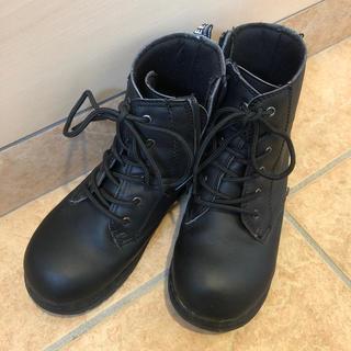 ブリーズ(BREEZE)のBREEZE ブーツ 21センチ 黒 ブリーズ(ブーツ)