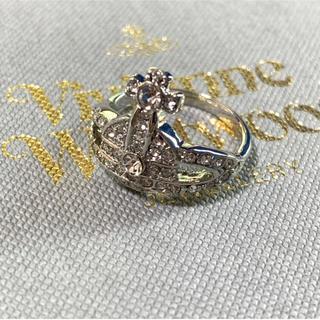 ヴィヴィアンウエストウッド(Vivienne Westwood)の即購入OK ストーン付きリング(リング(指輪))