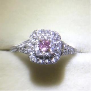 ピンクダイヤモンド リング(リング(指輪))