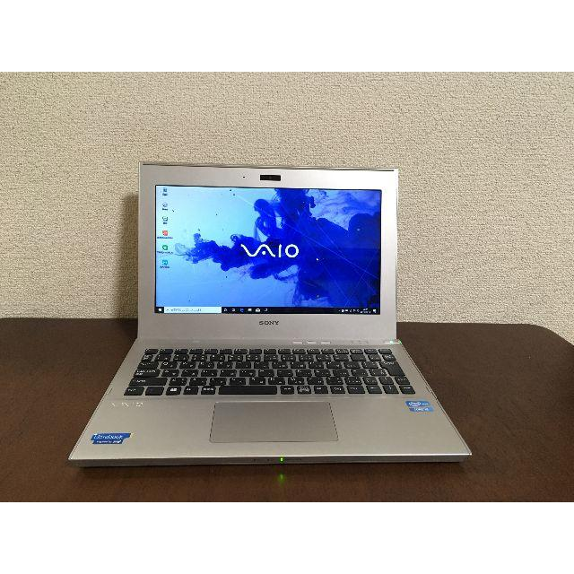 SONY(ソニー)のVAIO SVT111B11N/i5/SSD/HDD/4G/Win10 スマホ/家電/カメラのPC/タブレット(ノートPC)の商品写真