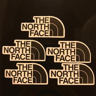 ノースフェイス ステッカー 5枚セット 防水 車 アウトドア ブランド おしゃれ