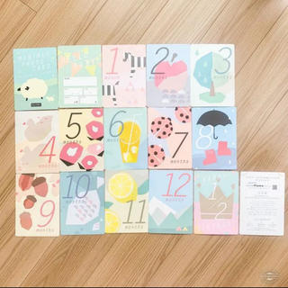 フェリシモ(FELISSIMO)のフェリシモ マンスリーカード 月齢カード(アルバム)
