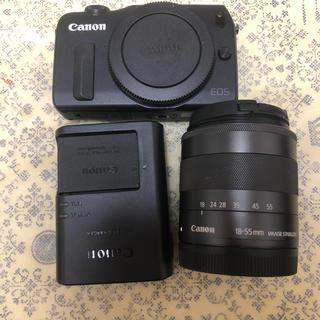 Canon - Canon キャノン ミラーレス一眼レフカメラ EOS M ブラック