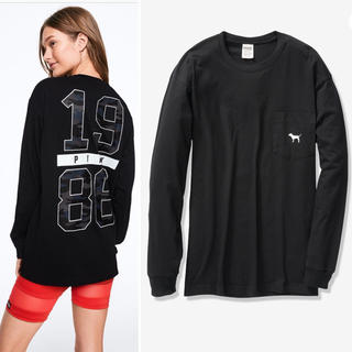 Victoria's Secret - 新作🐕長袖Tシャツ VS PINK XSサイズ♡新品未使用