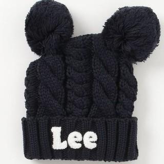 リー(Lee)のさやか様9/21  お取り置き新品 Lee 耳つきニット帽(帽子)