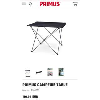 プリムス(PRIMUS)の海外限定 定価$119.95 primus テーブル(テーブル/チェア)
