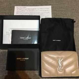 Saint Laurent - バーニーズニューヨーク購入 サンローラン ミニ財布 新品 YSL 確実正規品